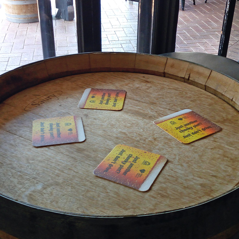 Beer Coaster Promotion