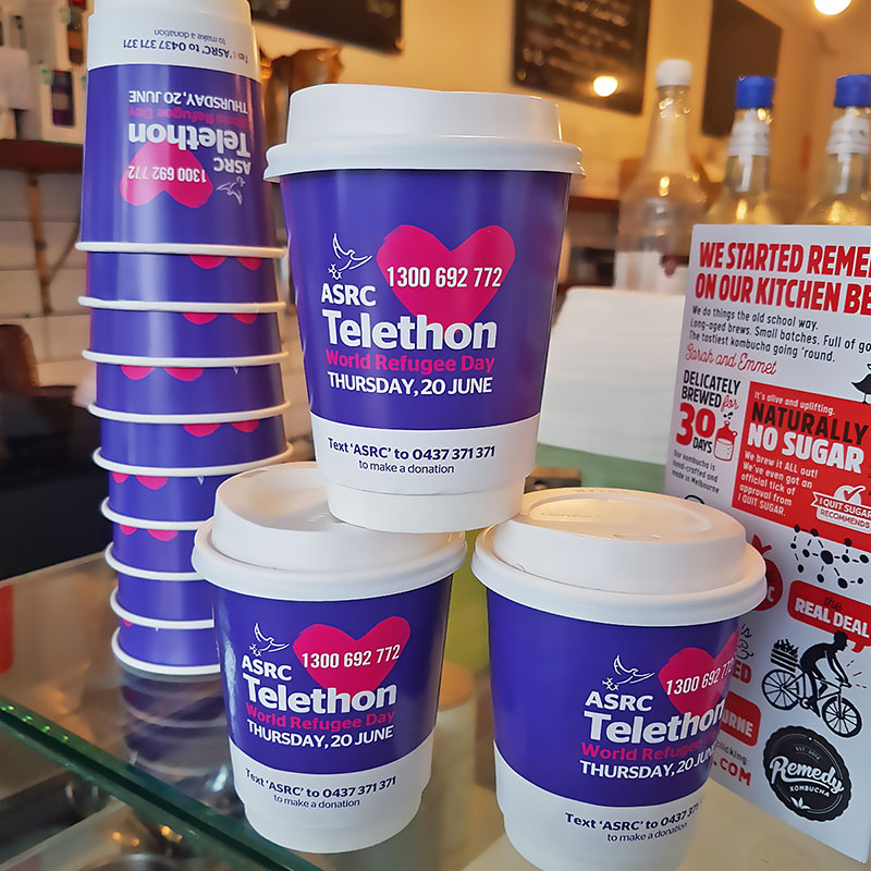 Coffee Cup Distribution