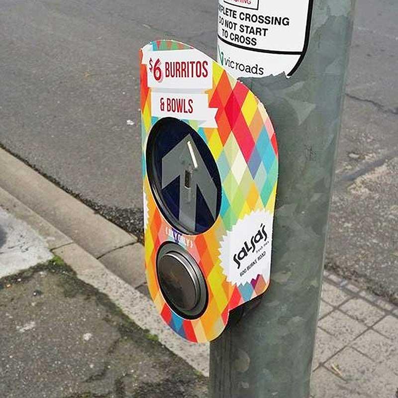 Pedestrian Buzzer Wraps