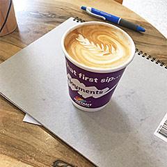 Tatts Lotto Coffee Cup Distribution