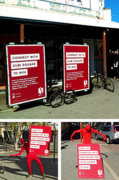 Bike Billboards and Sign Wavers