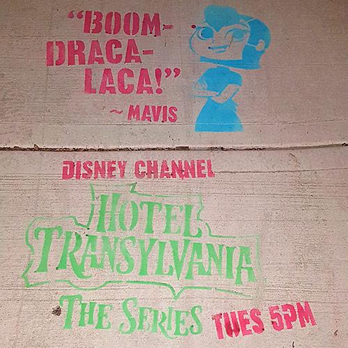 Disney Chalk Stencils