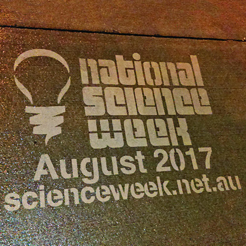Natioanl Science Week Water Pressure Stencils