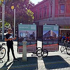Colliers Bike Billboards