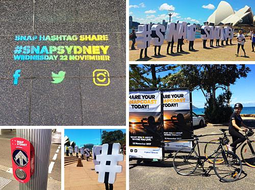 Snap Sydney Campaign