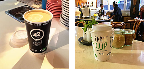 Compostable Coffee Cup Distribution