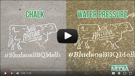Video: The Differences between Chalk Stencils and Water Pressure Stencils