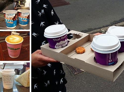 Coffee Cup Distribution